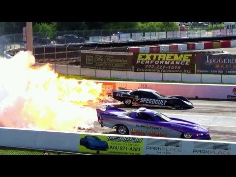 6,000 Hp HEAT WAVE Jet Car Fires Up With Raw Sound Crazy Speed Drag Race! Over 300 Mph