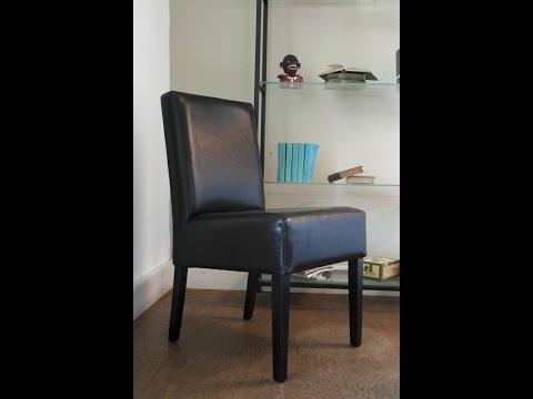 Klassische Wohnideen - elegant einrichten Esszimmer - Lederstühle | VARIA LIVING