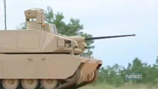 Black Knight Unmanned Ground Combat Vehicle | National Robotics Engineering Center Testing 1080p