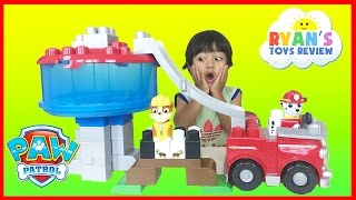 Ryan Plays Paw Patrol Toys Ionix Jr. Tower Block Set The Lookout