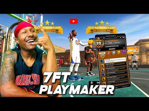 a 7FT PLAYMAKER is a true demigod on NBA 2K19! The speed boosting stretch big build on 2k19! DEMIGOD