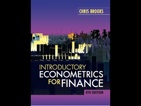 Introductory Econometrics for Finance Lecture 1