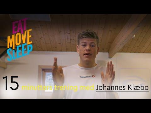 15 minutters økt med Johannes Høsflot Klæbo – Eat Move Sleep
