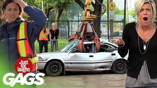 Crazy Car Pranks - Best Of Just For Laughs Gags