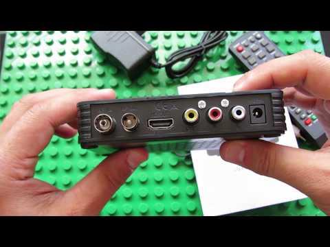 Unboxing K2 DVB-T2 High Definition Digital Receiver