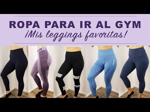 ROPA PARA GYM | Leggings de GYMSHARK, LULULEMON, 90 DEGREE, FABLETICS y más...