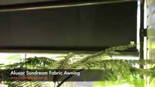 Aluxor Sundream Fabric Awning Motorised