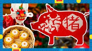 14 Awesome LEGO Chinese New Year Fan Made Creations