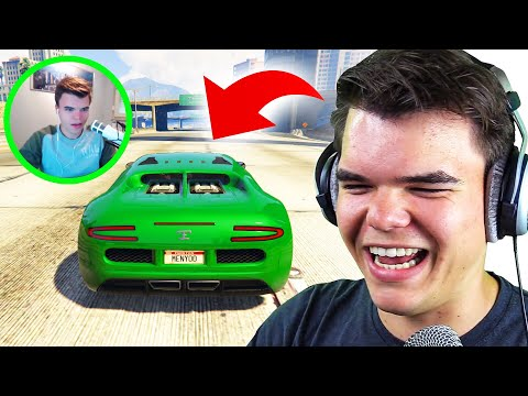 Watching My FIRST GTA 5 Videos EVER! (Reaction)