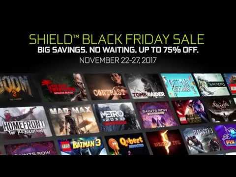 NVIDIA SHIELD November Game Sale Black Friday