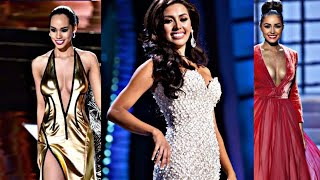 Worst Evening Gowns Miss Universe 2011-2017