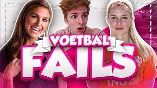 REAGEREN OP VOETBALVROUWEN FAILS!!