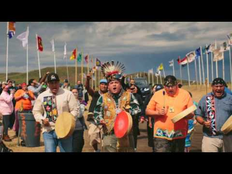 an anthem for standing rock water to fire
