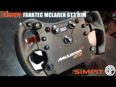 Fanatec McLaren GT3 Wheel Rim Review