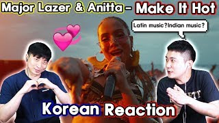 🔥(ENG) KOREAN Rappers  React To Major Lazer & Anitta   Make It Hot🔥