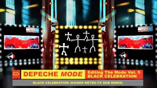Depeche Mode Black Celebration Kaiser Metro FX Dub Remix 2011 Video