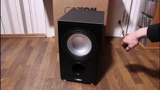 Canton AS85.3 SC Subwoofer Unboxing (German/HD)