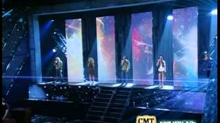 Sugarland feat Jake Owen & Little Big Town - Life in a Northern Town (live)