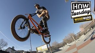 RIDE BMX - How-To: 180 Barspin w/ Aaron Ross