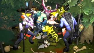 Neutral life Dota2 Animation