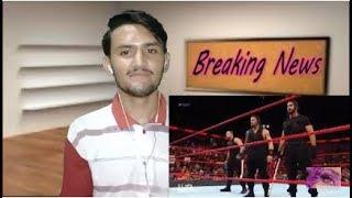The Shield Attack Braun Strowman, Drew McIntyre & Dolph Ziggler: Raw, Sept 2018 | Pakistani Reaction