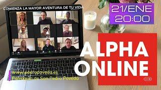21/ENE: Presentación online de CURSO ALPHA