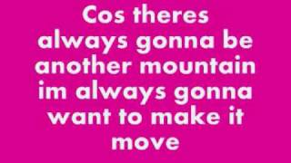 Joe McElderry - The Climb Lyrics