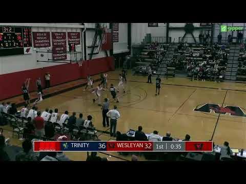 71dcf011084b ... Trinity Men s Basketball vs Wesleyan Highlights 02 01 Feb 16