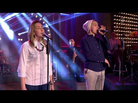 Вечерний Ургант. Ассаи Music Band — «Лифт» (27.11.2015)