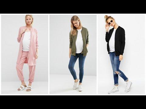 Chaquetas para Embarazadas 2017 ♥ #Moda #Tendencias #Mujer