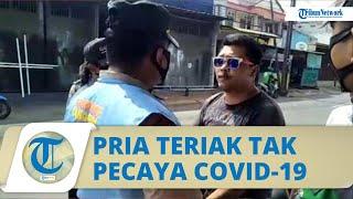 Viral Kesal Terjaring Razia Masker, Pria di Ciracas Teriak Tak Pecaya Covid-19 dan Ngaku Anak TNI