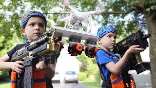 Nerf War : Payback Time 16 (Drone 2.0)
