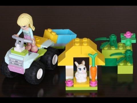 Vidéo LEGO Friends 3935 : Le lapin de Stéphanie