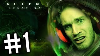 Alien: Isolation - Gameplay - Part 1 - (Playthrough / Walkthrough ) - SO DAMN EXCITED FOR THIS GAME!