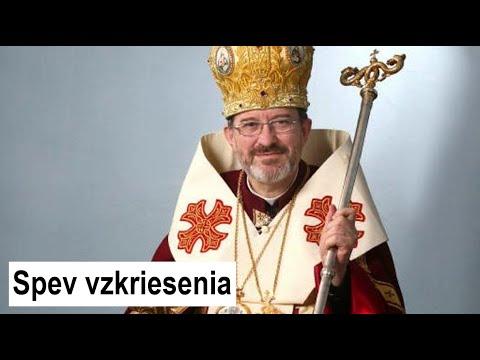 "POHREB vladyku MILANA ŠÁŠIKA: spev ""Anhelsky sobor"""