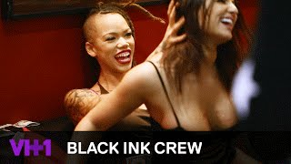 Ceaser Hires Melody Back & Parties With Strippers | Black Ink Crew