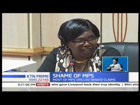 MPs grilled by national assembly's powers and privileges committee over bribery allegations