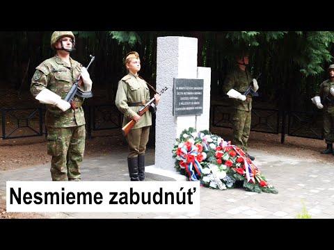 VÝROČIE SNP: Remetské Hámre si uctili padlých hrdinov kladením vencov