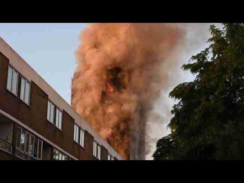 Se eleva el número de muertos por incendio en Londres, se esperan más víctimas