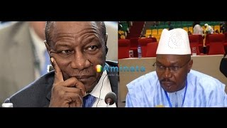 Ousmane kaba charge Alpha Condé