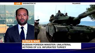 Firas Maksad updates Al-Jazeera English on Turkey's Afrin Incursion and US Strategy in Syria