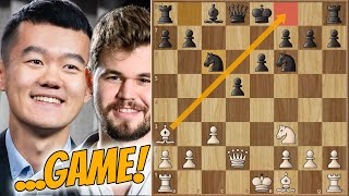 Dangerous... || Carlsen Vs Ding || Magnus Carlsen Grand Final (2020)