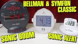"""SONIC BOOM + ALERT / BELLMAN SYMFON CLASSIC"" -Weckervergleich"