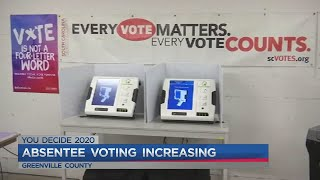 How to vote in-person absentee in Greenville County