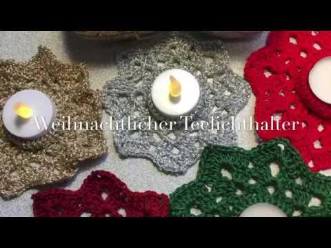 Glöckchen Häkeln Weihnachtsdeko Häkelanleitung Linkyoutubeme
