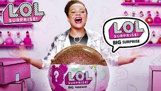 LOL Surprise! | Big Surprise Unboxing & Contest Reveal | Baby Doll Surprise Toys