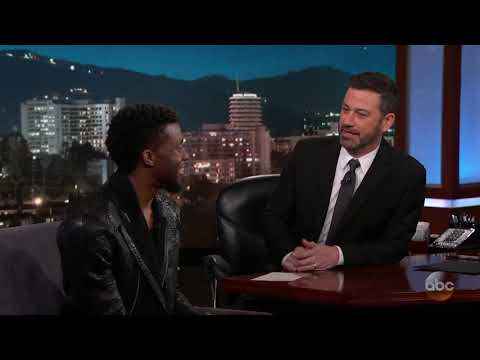 Chadwick Boseman on Black Panther Premiere