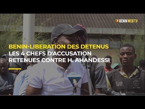 Benin: les 4 chefs d'accusation retenues contre le révolutionnaire Habib Ahandessi
