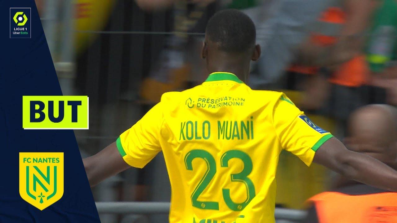 But Randal KOLO MUANI (23' - FCN) ANGERS SCO - FC NANTES (1-4) 21/22