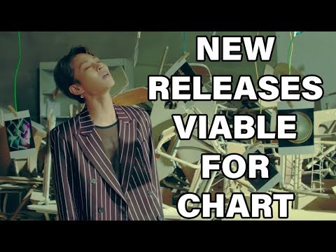 NEW K POP RELEASES VIABLE FOR CHART (OCTOBER 2018 - WEEK 2)